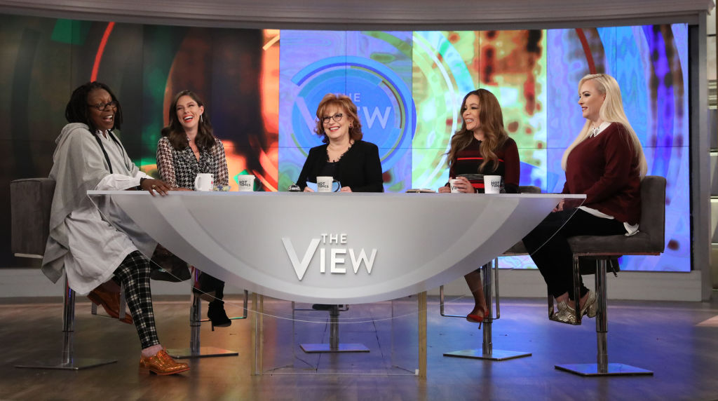 """THE VIEW - """"The View"""" welcomes Pete Souza and Charlotte Pence on Tuesday, October 16, 2018. """"The View"""" airs Monday-Friday (11:00 am-12:00 pm, ET) on the Walt Disney Television via Getty Images Television Network."""
